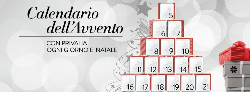 Timeline Facebook Calendario dell'Avvento